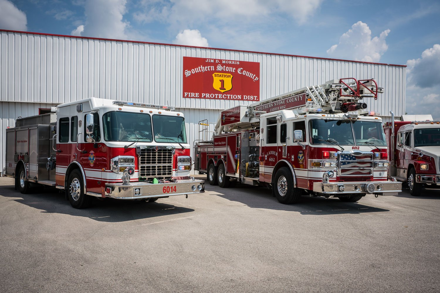 Stone County Fire Vehicles